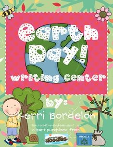 Students will love using these Earth Day themed Writing Mats in Literacy and Writing Centers. Colorful pictures, along with vocabulary words, are t...