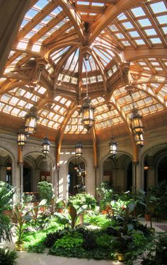 the Biltmore Estate in Ashville North Carolina... i was obsessed with this room
