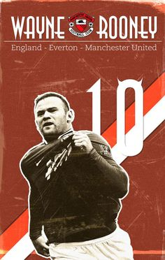 years ago, Wayne Rooney made his Manchester. Best Football Players, World Football, Soccer Players, Football Team, Manchester Fc, Manchester United Football, Famous Sports, Soccer Poster, Wayne Rooney