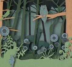ART N ART PICS: Helen Musselwhite : Paper Cut Art