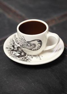 Nautilus Espresso Cup & Saucer.