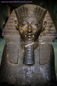 Ramses II Statue, Egyptian Museum, Cairo, Egypt.,