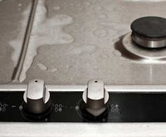 How to clean stainless steel cooktop