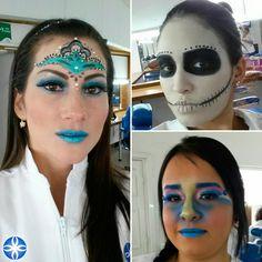 Explorar es el primer paso para crear grandes efectos de #maquillaje #aprendeconlosmejores #maquillajeprofesional #colegiaturadecosmetologia