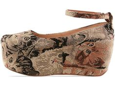 Jeffrey Campbell Beebee in Cat Tapestry at Solestruck.com