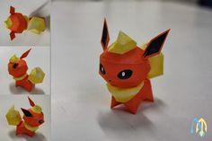 pokemon 136 flareon v3 chibi