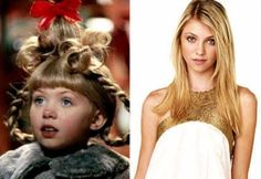 Breakout Role: Cindy Lou Who in How the Grinch Stole Christmas Where You Can See Her Now: Jenny Little J Humphrey in Gossip Girl O Grinch, Grinch Stole Christmas, Cindy Lou Who, Stars Then And Now, Taylor Momsen, Last Dance, Old Tv Shows, Queen B, Celebs