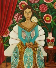 Donatella's Arrival - Catherine Nolin fantastic portrait!