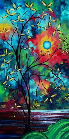 UNDER THE LIGHT OF THE MOON II by MADART    Artist:    Megan Duncanson
