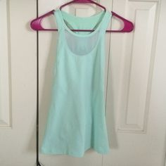 Lululemon Tank Light Green, I would call it Mint Green, Lululemon Tank. Size 2. No pads included. lululemon athletica Other