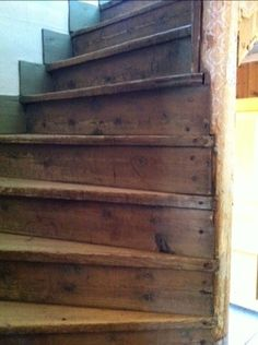 Beautiful old stairs