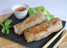 Nems au poulet et aux crevettes Asian Recipes, My Recipes, Crockpot Recipes, Ethnic Recipes, Chinese Recipes, Cas, Wan Tan, Ramadan Recipes, Recipe Boards