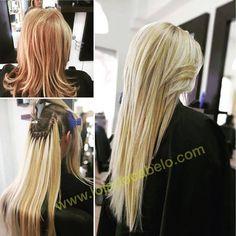 Mais um trabalho espetacular ☺️  200 gramas de cabelo solto loiro 22 - método de aplicação:Nó Itáliano  #extensoesdecabelo #extensoes #hairextension #hair #montijo #lojadocabelo #lisboa #blondehair #loiro