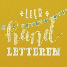 Vind je die handgeschreven kaarten en quote ook zo leuk en wil je ook leren handletteren? Volg dan deze serie blogs! Deze week Beginnen met handletteren - 1