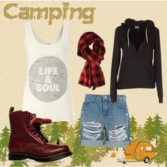 New Camping Trip Outfit Shops Ideas Camping Outfits For Women, Women Camping, Camping Activities For Kids, Summer Outfits, Cute Outfits, Festival Camping, Camping Style, Clothes For Women, Camping Fashion