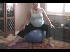 How to use the Birth Ball - www.SerenityBirth.com
