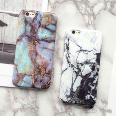 New Hot Granite Marble Kết Cấu Điện Thoại Cứng Lại Bìa Phone Case Cho iphone 7 cho iphone 6 6 s 7 cộng với điện thoại di động bags & trường hợp
