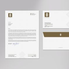 Create envelope and letter head design by logodentity