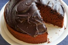Fast and easy chocolate cake.