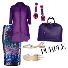 Designer Clothes, Shoes & Bags for Women Bruno Magli, City Chic, Boohoo, Louis Vuitton, Marigold, Shoe Bag, Purple, Polyvore, Stuff To Buy