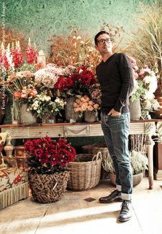 I bouquet su misura di Rambert Rigaud.