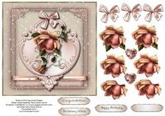 Rose Of Promise Card Topper 2