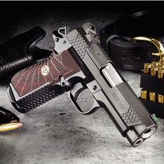 Wilson Combat EDC X9 with 15+1 capacity and grip modularity to fit any hand. Superior accuracy, shoot ability, reliability and with or without lightrail