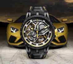 Der Lamborghini unter den Armbanduhren: Excalibur Aventador S