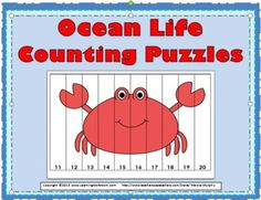 Ocean Life Counting Puzzles
