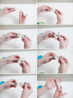 DIY | nautical rope boutonnieres
