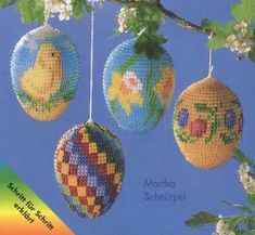 Easter eggs-pattern for this is  full covering, not netted.