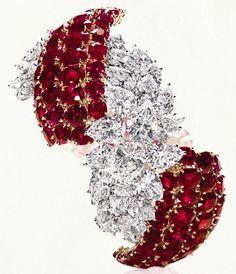 Sultanesque Ruby Jewelry, High Jewelry, Jewelry Necklaces, Jewlery, Women Jewelry, Antique Jewelry, Vintage Jewelry, Bollywood Jewelry, Harry Winston