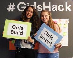 Niñas inspiradas y felices #GirlsHack