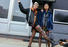 Alexander Wang tights-NY Fashion Week