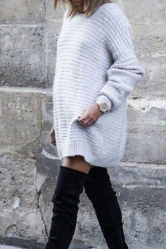 10+ Insanely trendy Amazon fashion dresses UNDER $50! These are the best sweater dresses for this fall/winter 2020/21. These are the best outfit ideas! Cute Fall Outfits, Cool Outfits, Fall Fashion Trends, Autumn Fashion, Fall Dresses, Sweater Dresses, Winter Looks, Fall Winter, Cool Sweaters