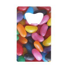 Jelly Bean Credit Card Bottle Opener