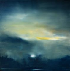 "Saatchi Art Artist Maurice Sapiro; Painting, ""Moonrise"" #art"