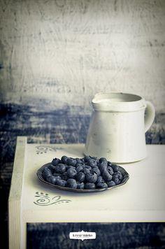 {Blueberries and Raspberries Tart} | Krew i mleko - kuchnia i fotografia