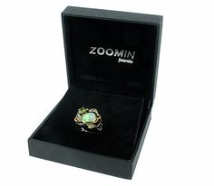 Opal Ring Statement Ethiopian Opal Ring October by ZoominJewels
