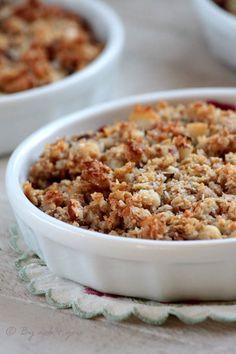 Crumble aux fruits rouges et aux flocons - livre « Flocons d'avoine & d'ailleurs »
