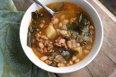 Caldo Gallego (Galician Sausage and Bean Soup)