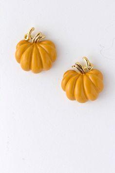 Sweet Pumpkin Earrings