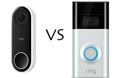 Nest Hello vs Ring Video Doorbell Which smart doorbell is best for you? In the battle of the smart doorbells, we have the Nest Hello vs Ring Video Doorbell 2 to help you find out which ones is best for your home. Wireless Home Security Systems, Security Alarm, Homekit Devices, Ring Video Doorbell, Best Home Security, Rings Cool, Smart Home, Nest, Doorbells