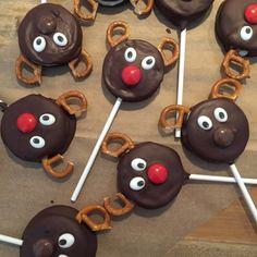 olles *Himmelsglitzerdings*: Rentier Muffins und Cake Pops