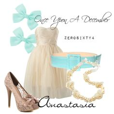 """Anastasia - Once Upon A December"" by zerosixty4 on Polyvore"