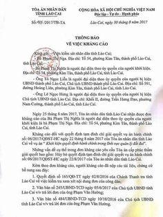 Vụ kiện Chủ tịch Lào Cai: Đúng, sai ra tòa mới biết Link: https://vn.city/vu-kien-chu-tich-lao-cai-dung-sai-ra-toa-moi-biet.html #TintucVietNam - #VietNam - #VietNamNews - #TintứcViệtNam Lãnh đạo phường Kim Tân cho rằng, việc kháng cáo của 3 anh em nhà ông Kha phải ra tòa mới biết được đúng, sai như nào. cho rằng, việc kháng cáo của 3 anh em nhà ông Kha phải ra tòa mới biết được đúng, sai như nào