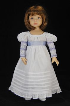 Regency dress with smock