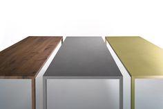 SALONE INTERNAZIONALE DEL MOBILE 2016 _ Preview MDF Italia. New materials for the Tense table!