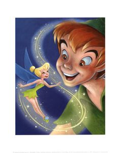 Peter Pan is one of my most beloved movies from my childhood.  Beautiful prints & movie clips.