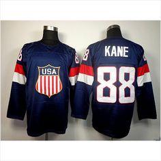 652b4f258 2014 Olympic 88 Patrick Kane USA Jersey Sochi Winter Team USA Ice Hockey  Jersey on eBid